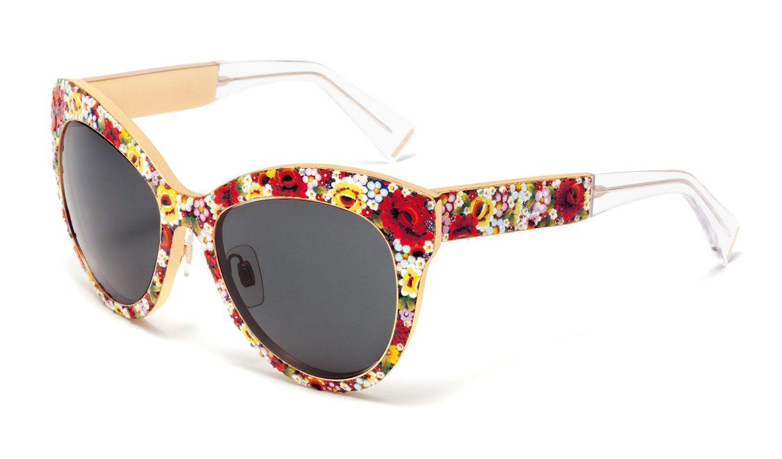 8ee1e5e3f3 Cómo el Mosaico colección de Dolce & Gabbana Gafas de sol cobra vida ...