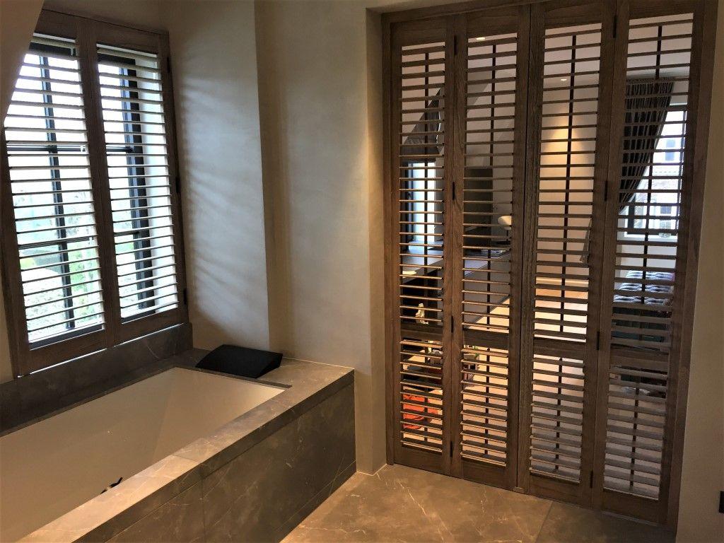 Uitgelezene Gebruik Van Eyck shutters als roomdivider tussen uw badkamer en ZG-15