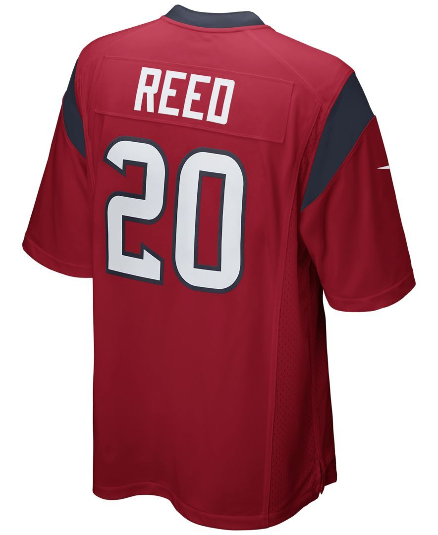 cheap for discount 87979 0bc84 Nike Men's Ed Reed Houston Texans Game Jersey | Products ...