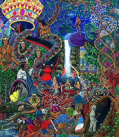 Sam Woolfe: The Visionary Art of Pablo Amaringo