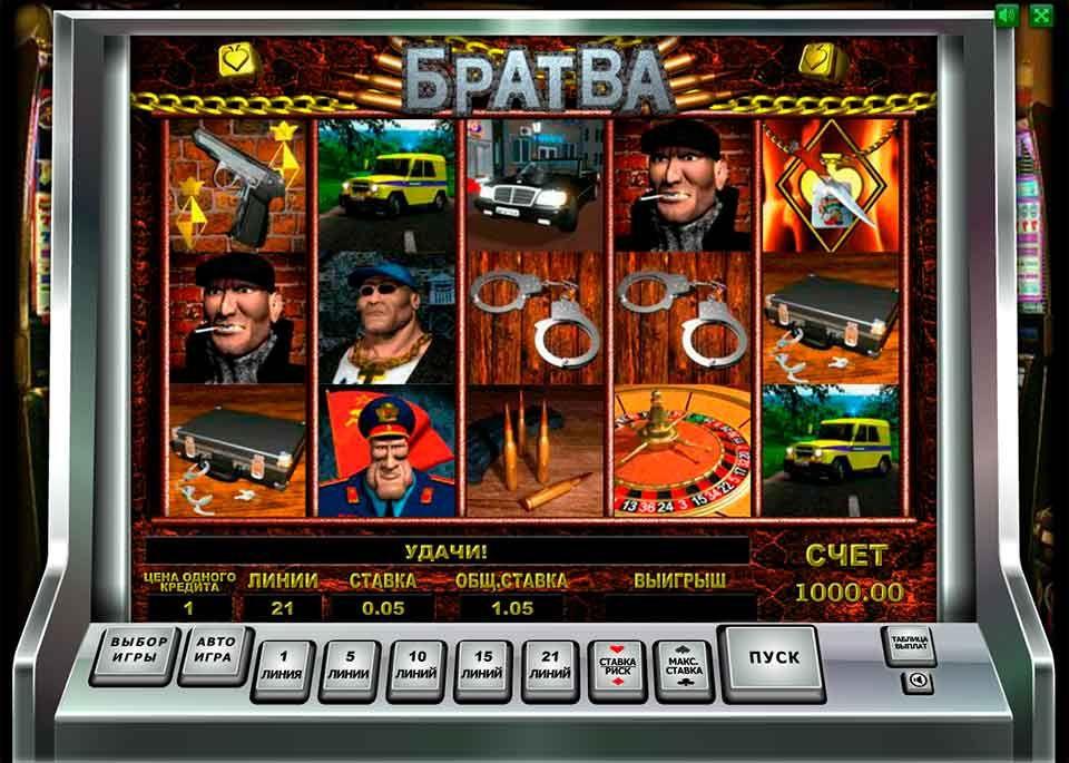 Игровые автоматы играть бесплатно братва демо рейтинг игровых автоматов онлайн по выплатам