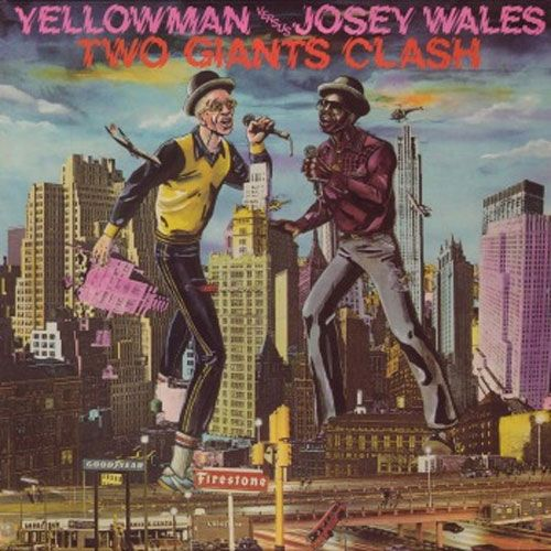 Greensleeves Cover Art Yellowman Versus Josey Wales Reggae Album Covers Album Cover Art