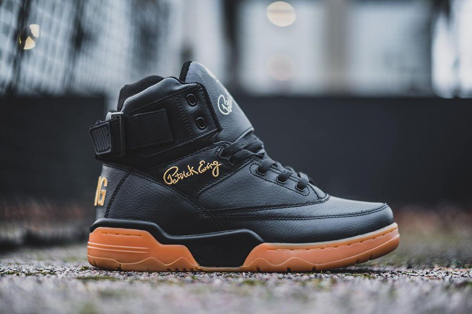 "Ewing 33 Hi ""Black & Gold"""