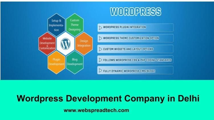 Webspread Is Leading It Company Which Provides One Of The Best Wordpress Development Company In Delhi Call Us On 91 120 Development Wordpress Plugins Company