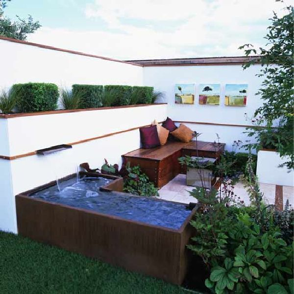 Outdoor Entertainment Designs relaxing outdoor spa ideas for your home | outdoor spa, outdoor