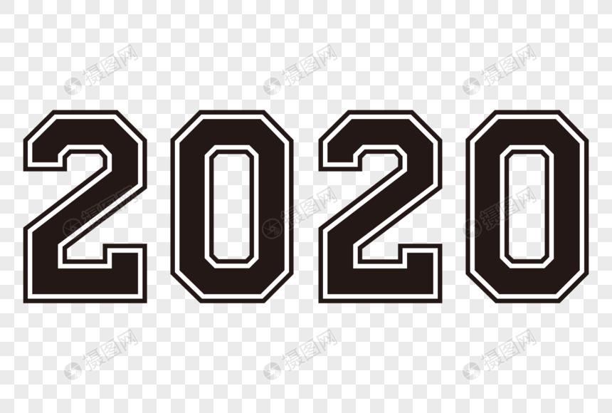 black 2020 number