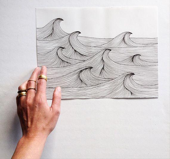 Wall Decoration Drawing