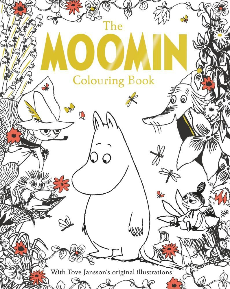 Colouring book on online - Booktopia Has The Moomin Colouring Book Macmillan Classic Colouring Books By Tove Jansson Buy A Discounted Paperback Of The Moomin Colouring Book Online