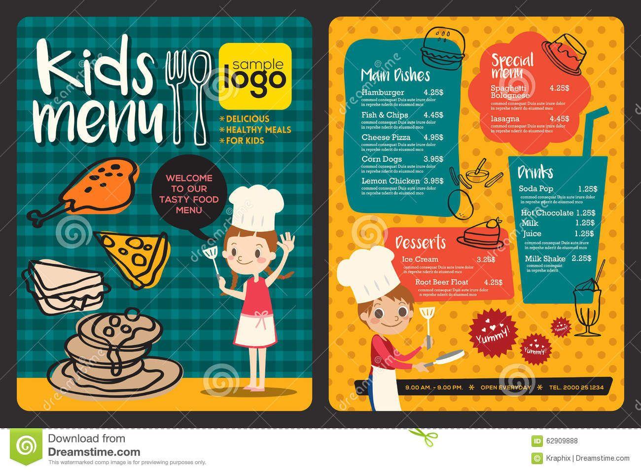 image result for kids menu designs menu design pinterest menu