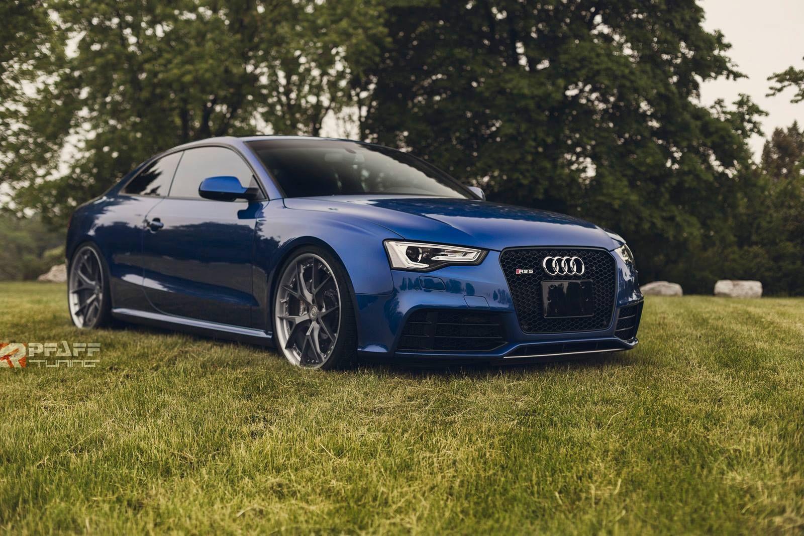 Custom Audi Rs5 In Sepang Blue Is Sheer Beauty Audi Rs5 Audi Audi Cars