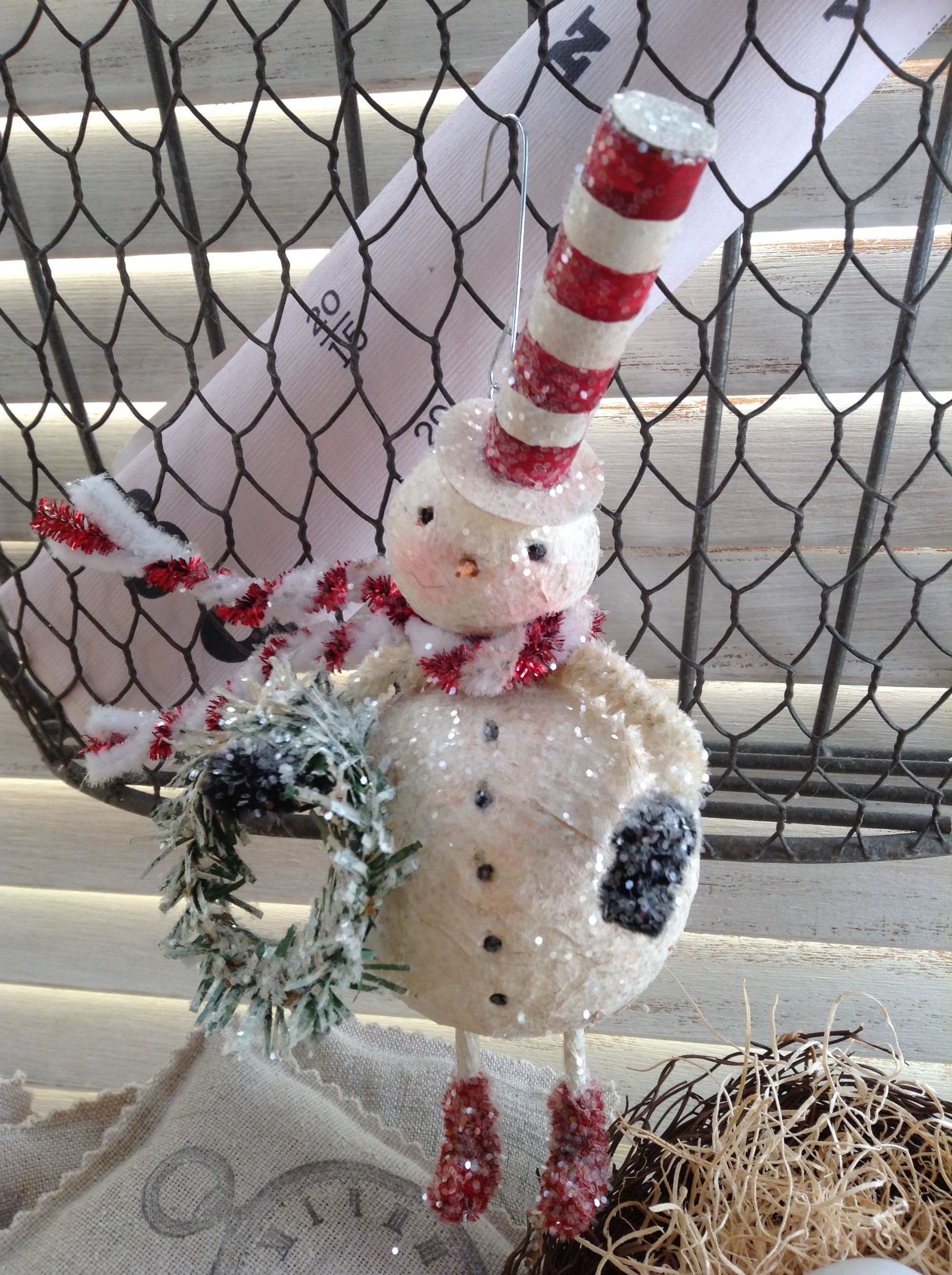 Pin by Peggy Stoop on Diy ornaments Pinterest