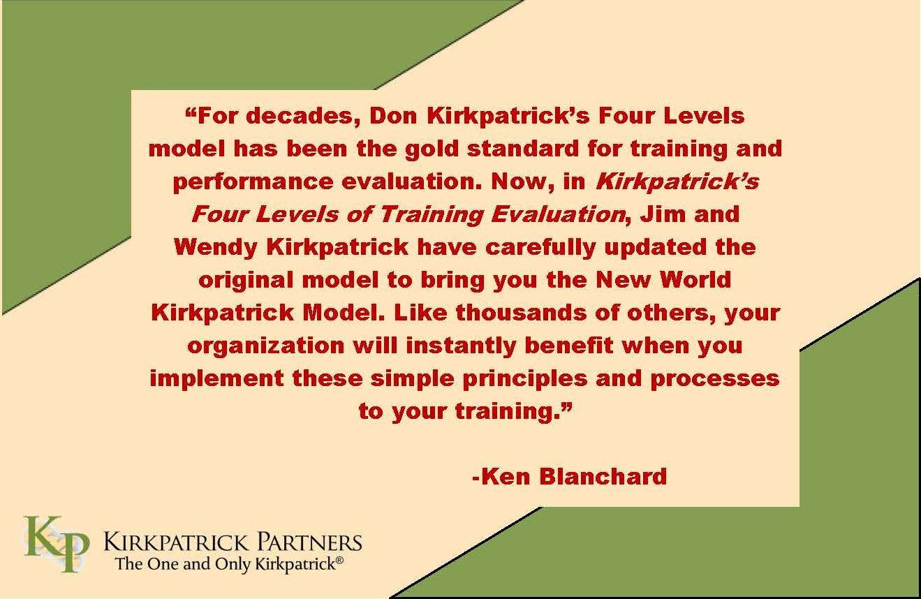 Ken BlanchardS Review Of Jim And Wendy KirkpatrickS New Book