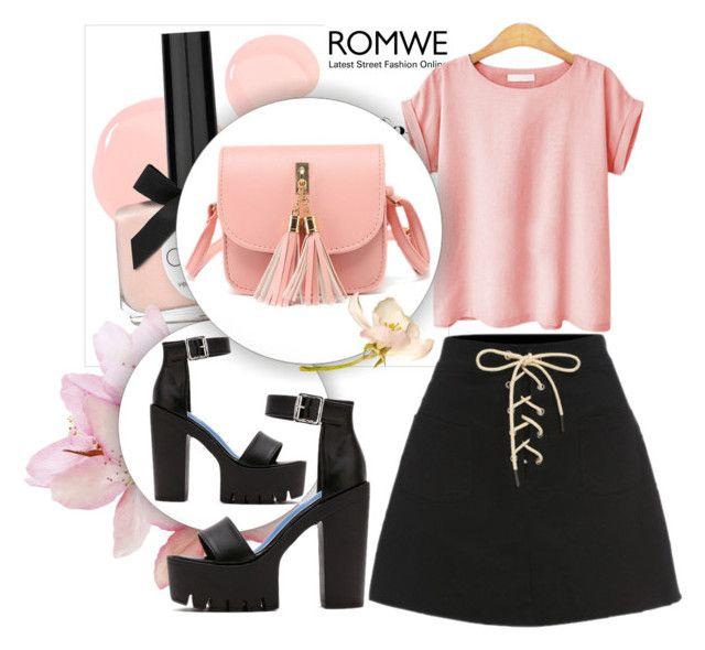 """ROMWE IV-9"" by melisa-hasic ❤ liked on Polyvore"