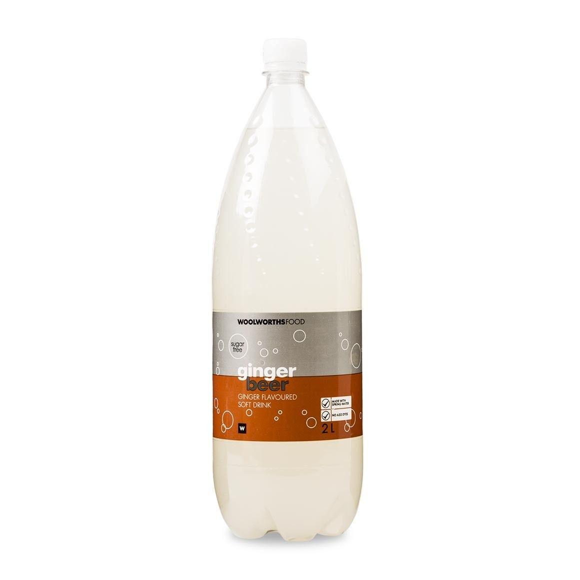 Sugar free ginger beer soft drink 2l sugar free ginger