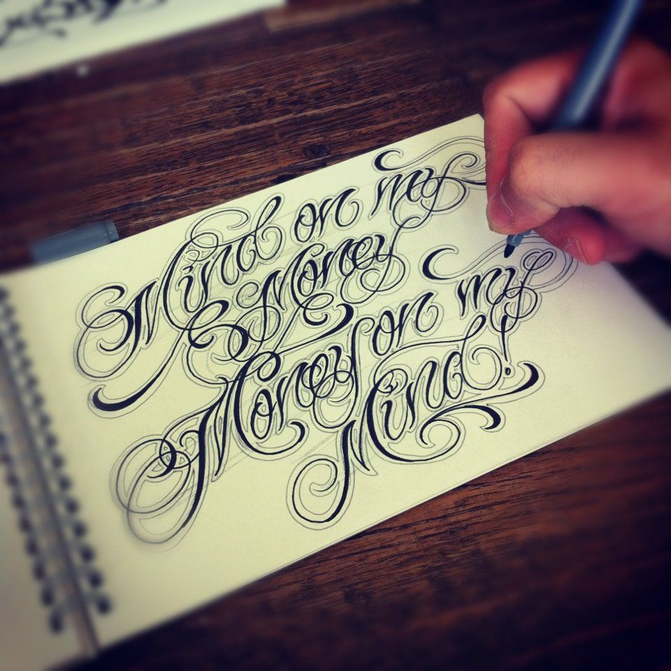 Tattoo Quotes Letter Style: The 25+ Best Chicano Lettering Ideas On Pinterest