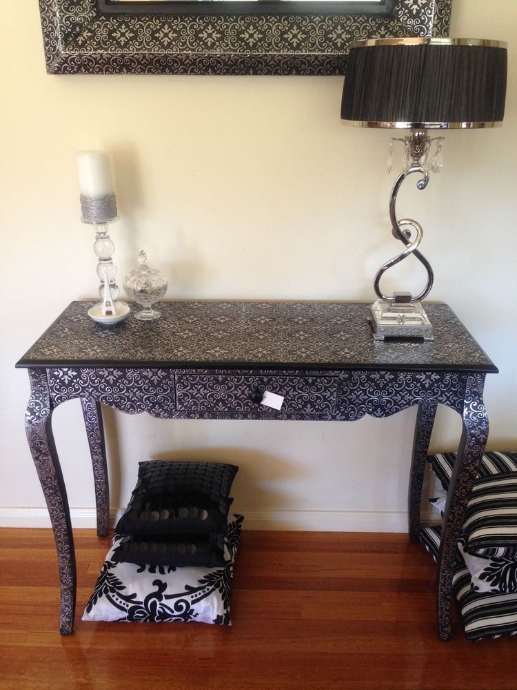 Lovely Silver Hall Table