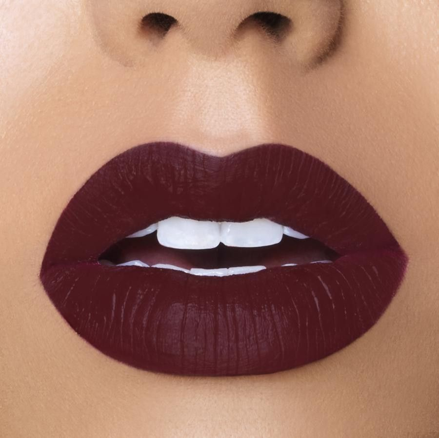Bougie We Put The Boo In Bougie This Deep Dark Wine Color Lipstick Will Make You Feel Like You C Wine Colour Lipstick Lipstick Colors Matte Liquid Lipstick