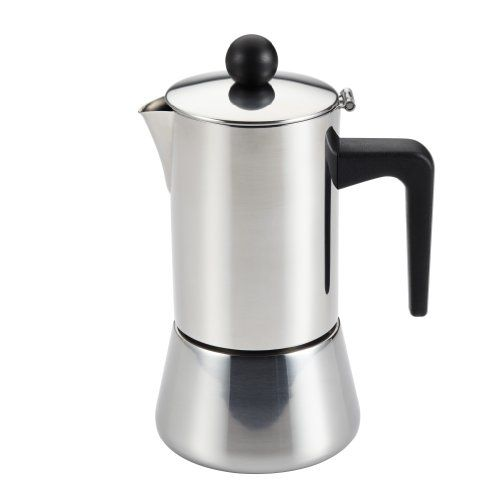 BonJour Coffee Stainless Steel Stovetop Espresso Maker 32Ounce