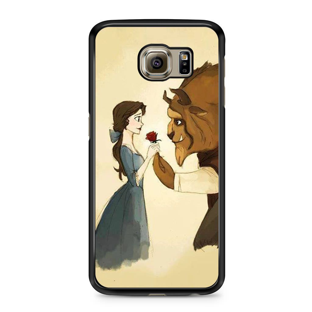 sports shoes 82f99 a394a Disney Beauty and The Beast Art Samsung Galaxy S6 case   Galaxy Tab ...