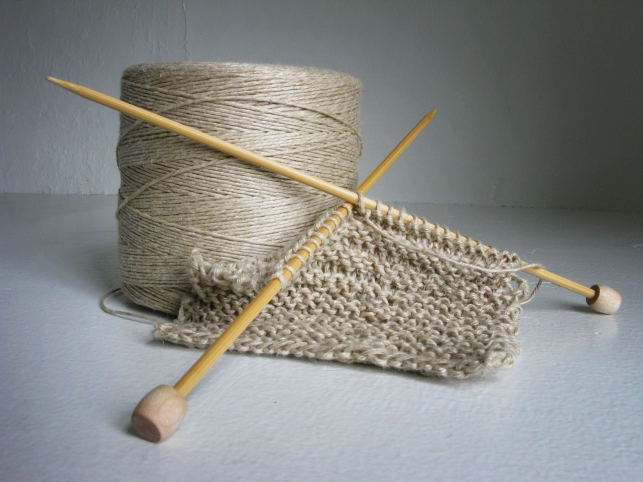 Knitted Hemp Cloth Squares Have Replaced Cellulose Sponges