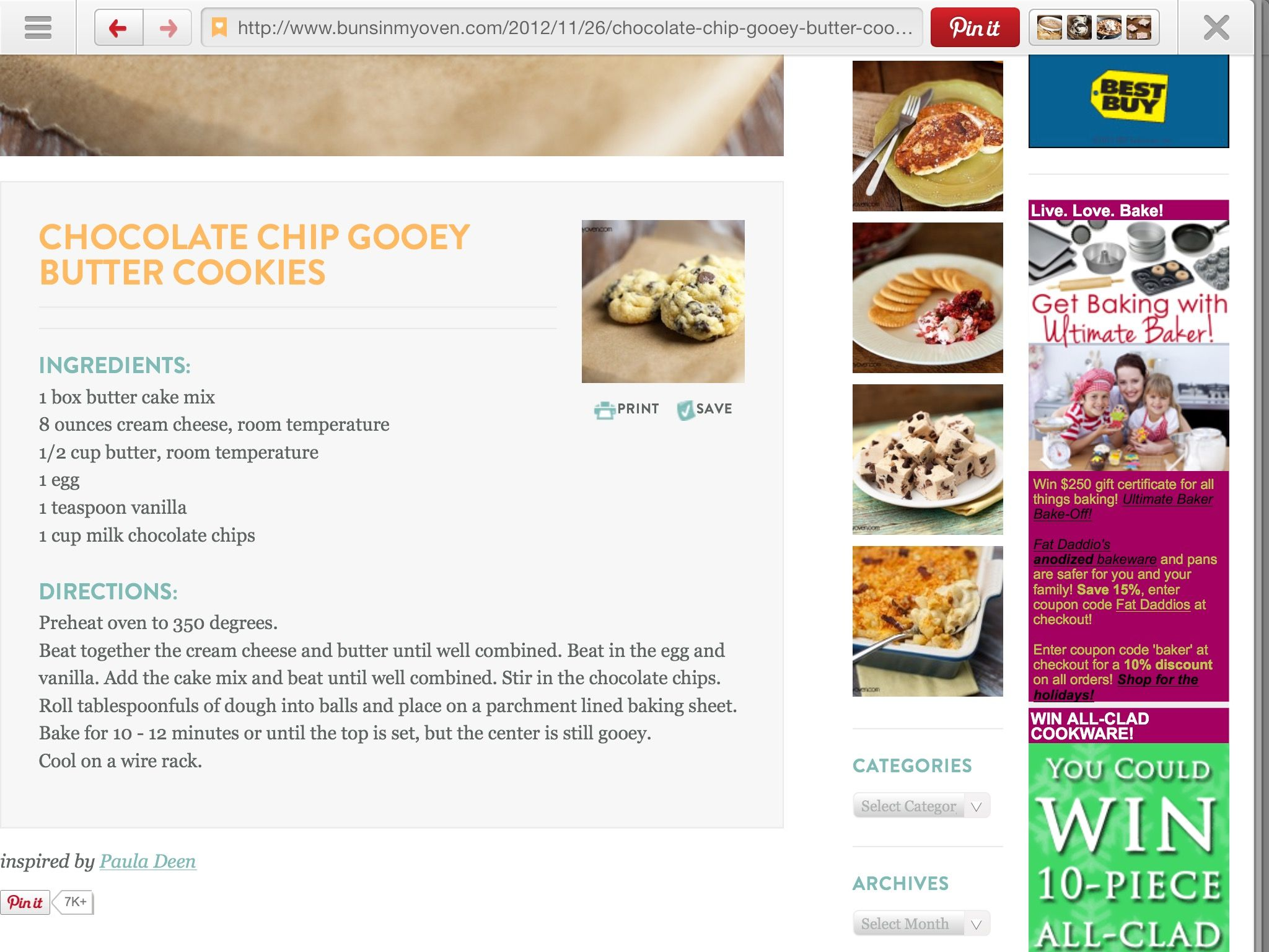 Pin By Suzy Savannah S House On Just Desserts Gooey Butter Cookies Chocolate Milk Butter Cookies