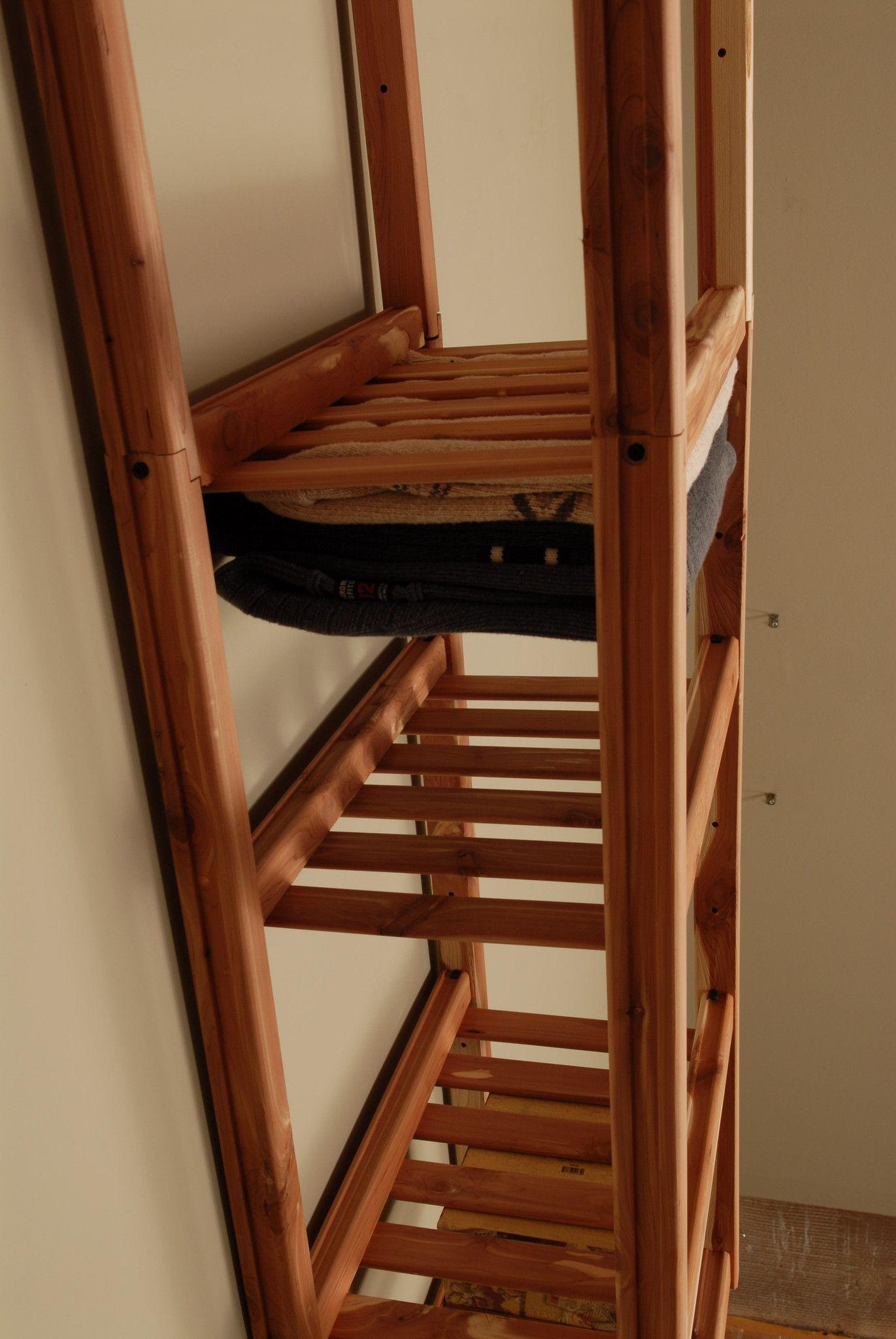 "Basic Ventilated Closet Organizer Cubby Kit 30"""