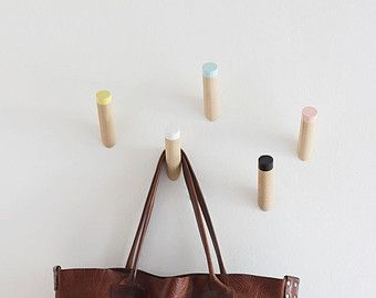 Entryway Coat Hooks Modern Wall Kids By Loopdesignstudio