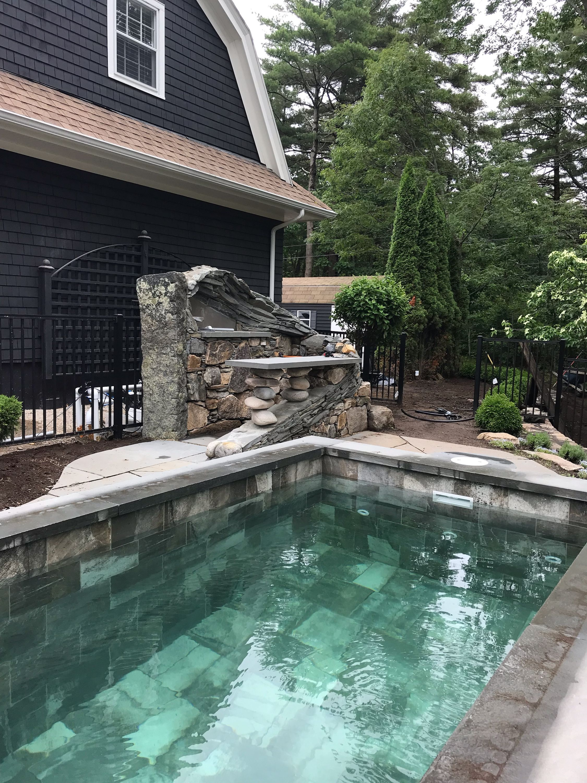 Coastal Maine Soake Pool Swimming Pool Builder Inground Pool Installation Swimming Pools Inground