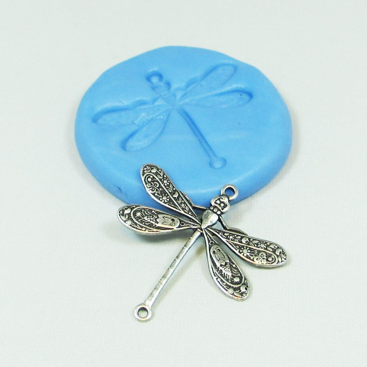 Dragonfly /& Flower Polymer Clay Push Mold 0 S//H Offer