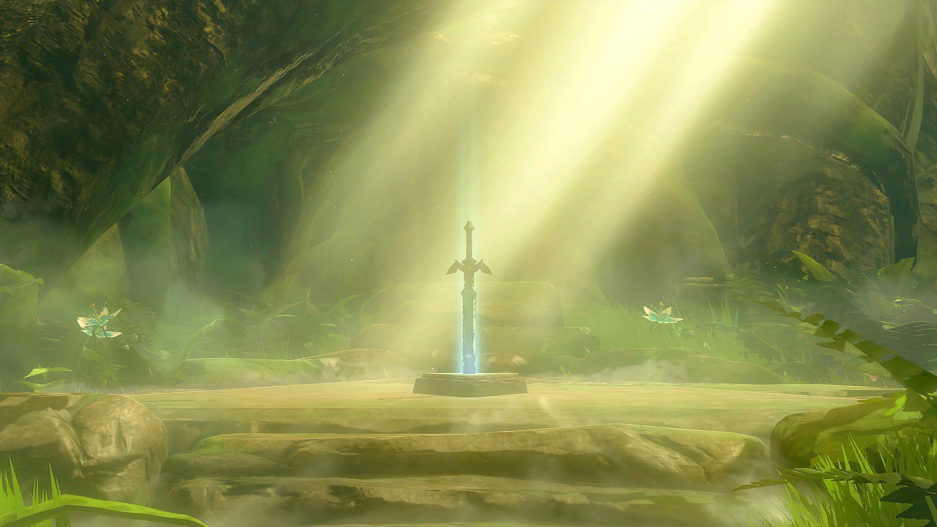 The Legend Of Zelda Breath Of The Wild The Legend Of Zelda Espada Mestra Zelda