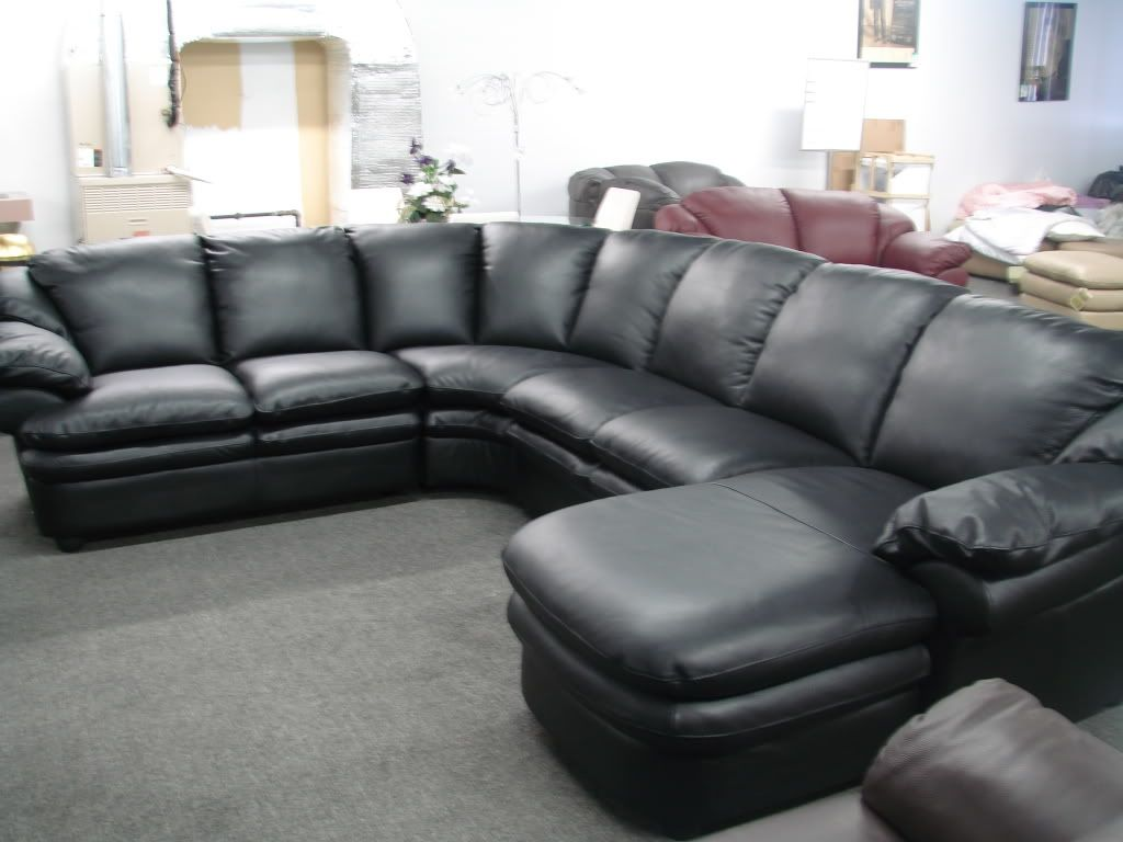 Black Natuzzi Sectional  Yahoo Canada Image Search Results Captivating Black Leather Living Room Furniture Decorating Design