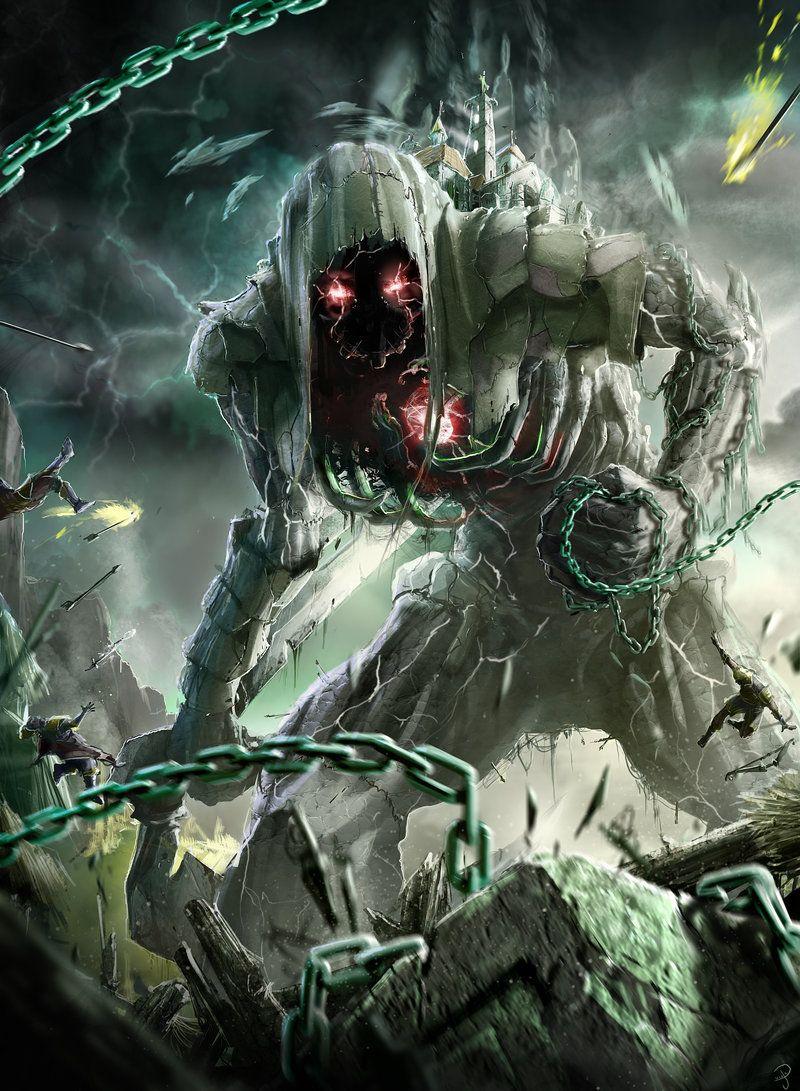 Death colossus by ptitvinc.deviantart.com on @deviantART