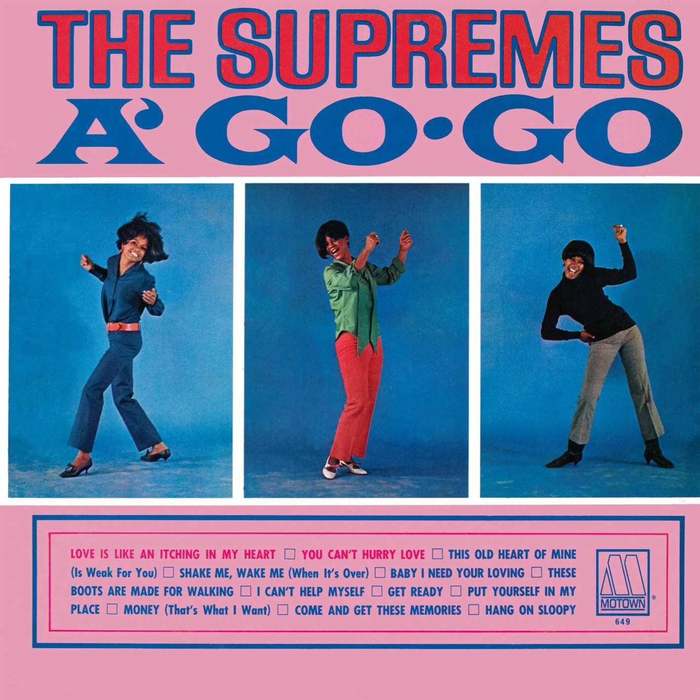 Today 10 22 in 1966 The Supremes landed on the top of the LP chart