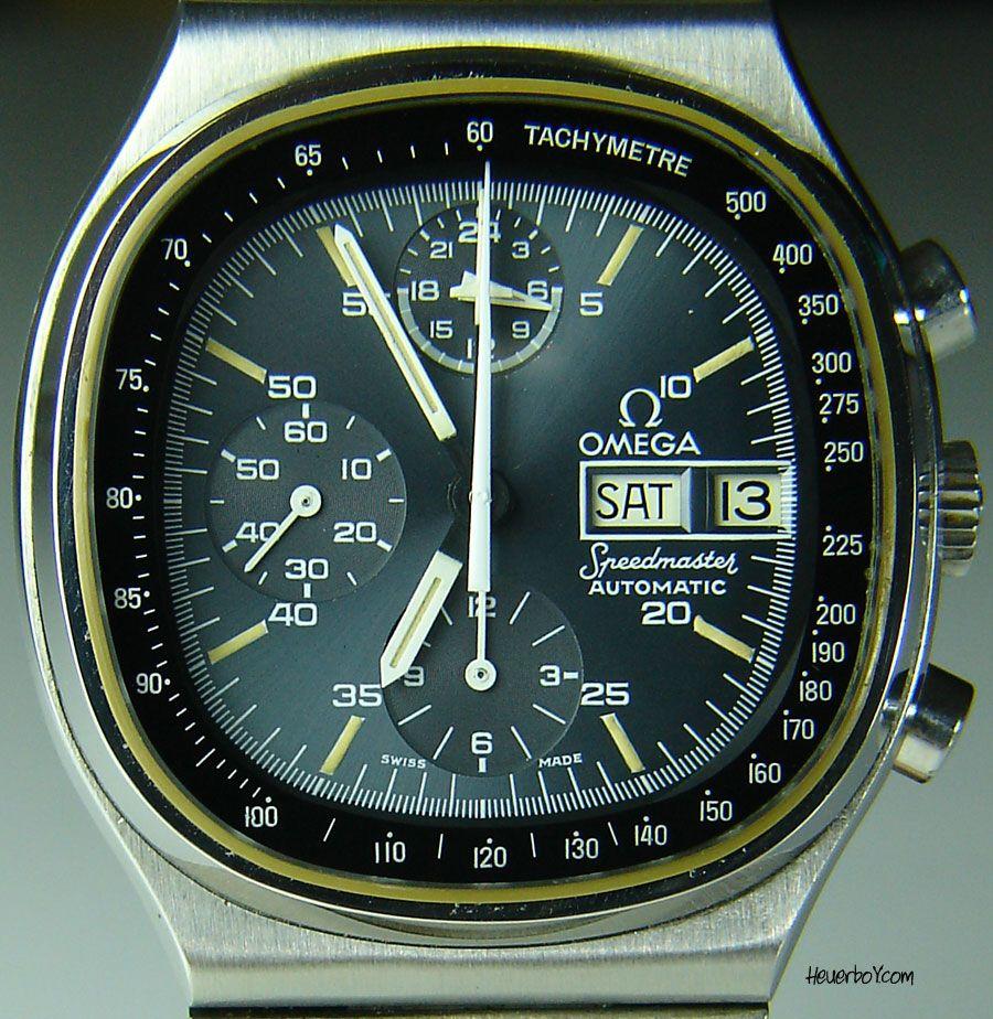 Omega Speedmaster Tv Shape Watches