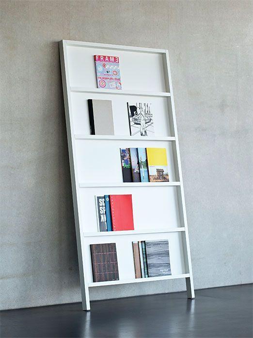 zeitschriftenregal oblique small radio interior. Black Bedroom Furniture Sets. Home Design Ideas