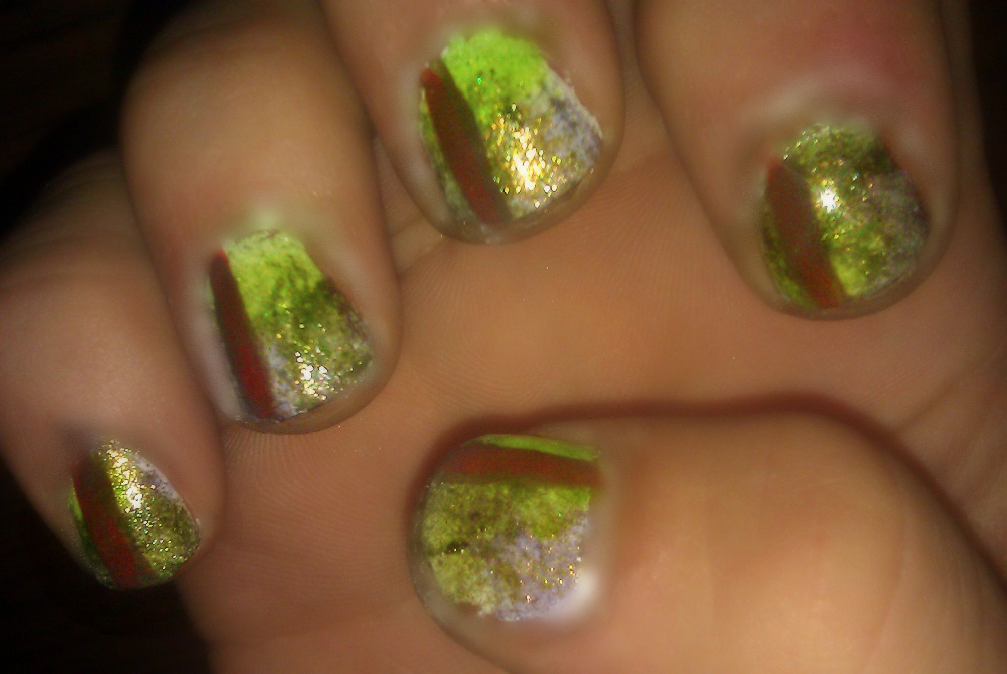 Colors of Nature Nails!