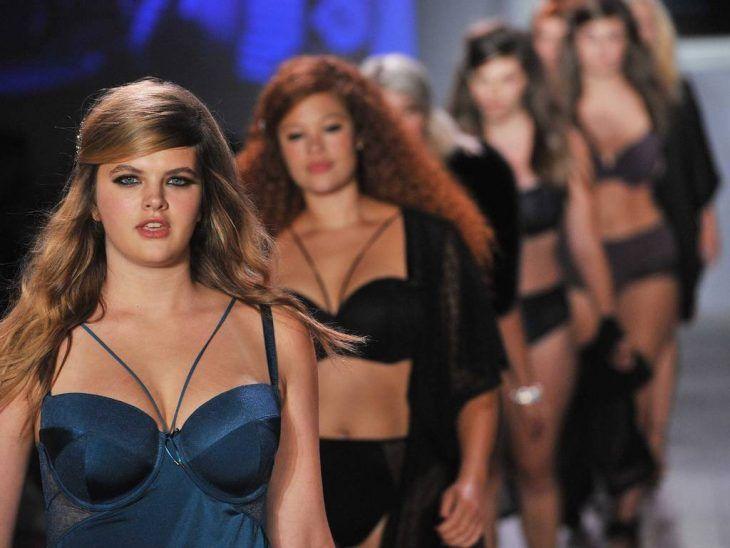 modelos talla grande en pasarela Semana de la moda Nueva York