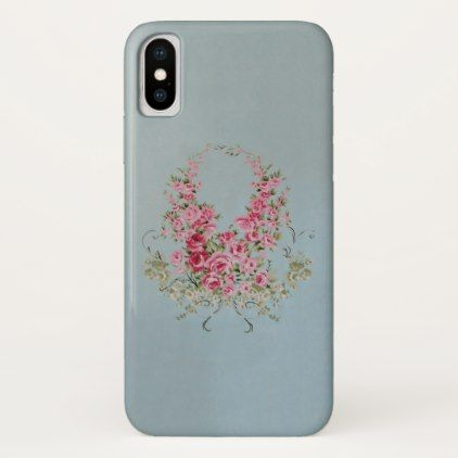 Alluring Flowers (More Options) - iPhone X Case - retro gifts style cyo diy special idea