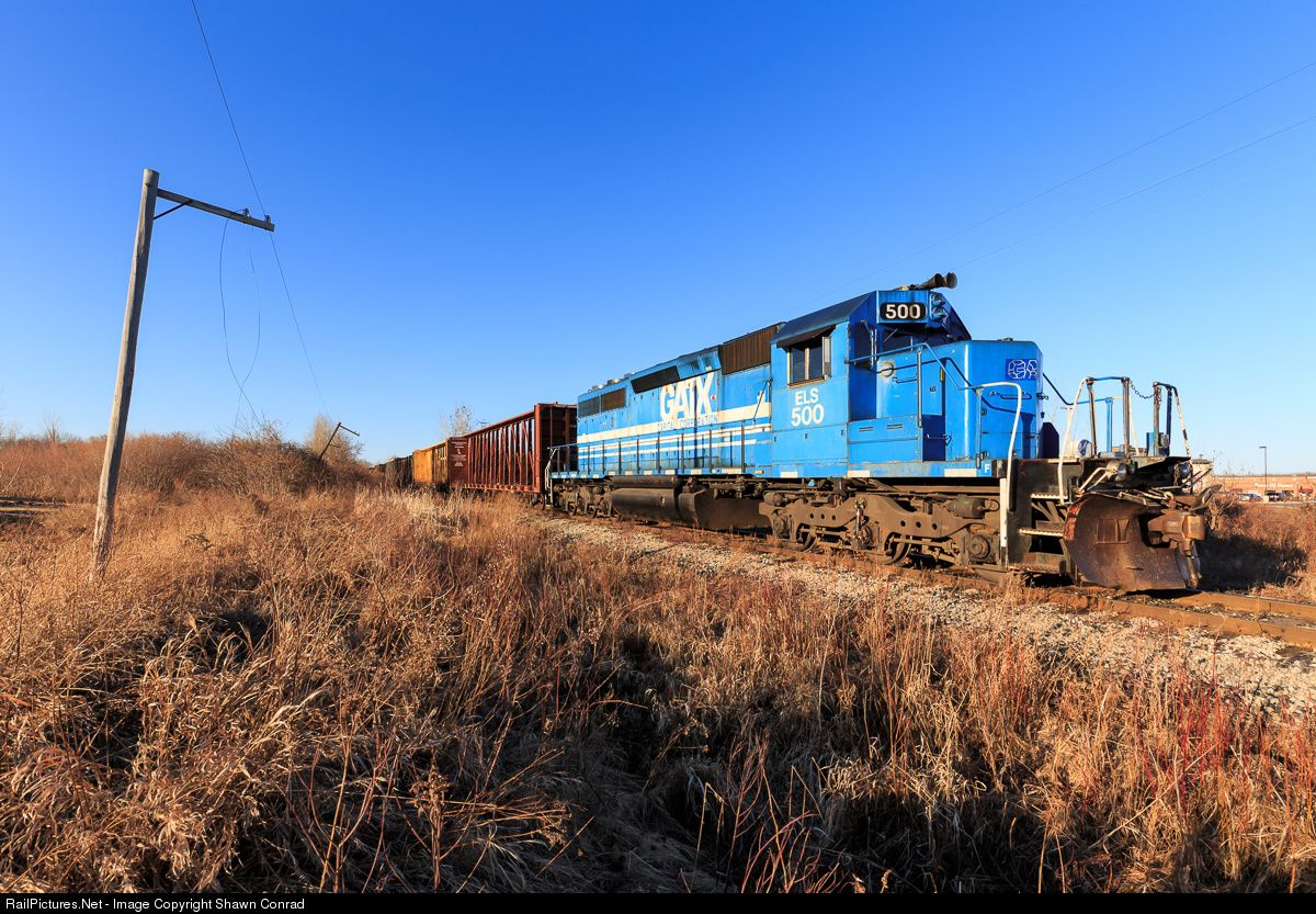 Railpictures Net Photo Els 500 Escanaba Lake Superior Railroad Emd Sd40 2 At Howard Wisconsin By Shawn Conrad With Images Lake Superior Lake Escanaba