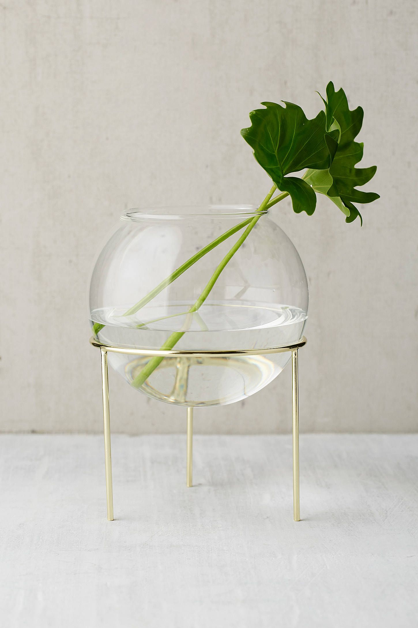 ida glass globe planter tripod stand tripod planters and globe