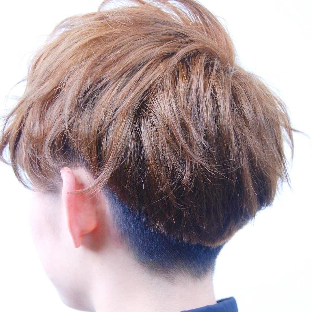 Boy hair color images menus メンズラッシュ笑 低めのかりあげ カットはつながってます