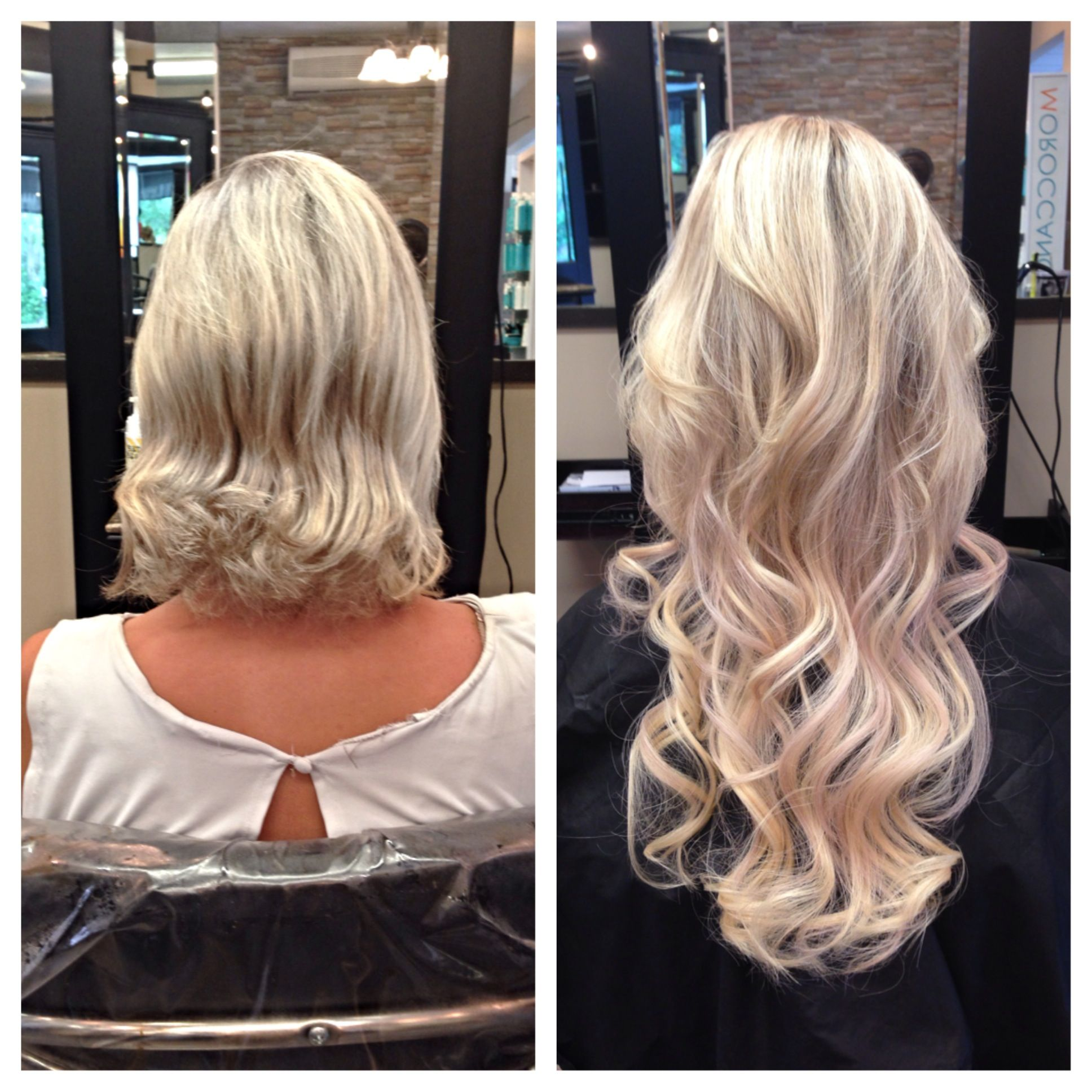 AMAZING TRANSFORMATION 18in Hair Extensions Styles By Sabrina