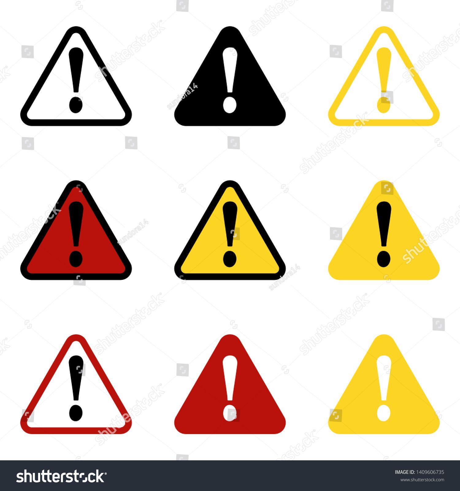 danger sign warning sign attention sign danger icon warning icon attention icon ad spon sign danger warning icon in 2020 warning signs danger sign signs danger warning icon