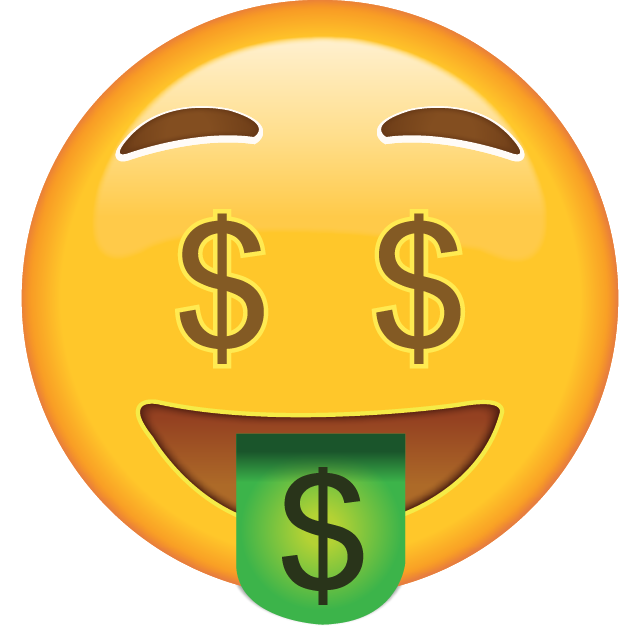 Money Face Emoji Adventures In Babysitting Money Emoji Emoji