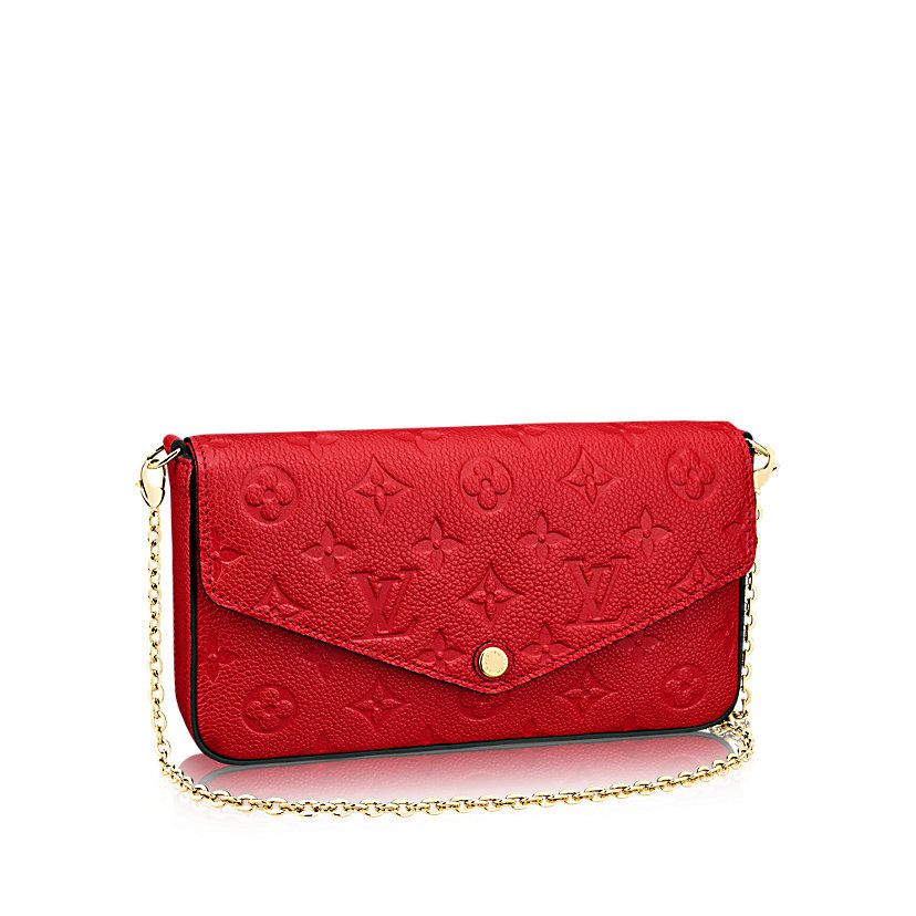 Pochette Félicie Monogram Empreinte Leather in WOMEN s SMALL LEATHER GOODS  collections by Louis Vuitton 9fe0199fd66