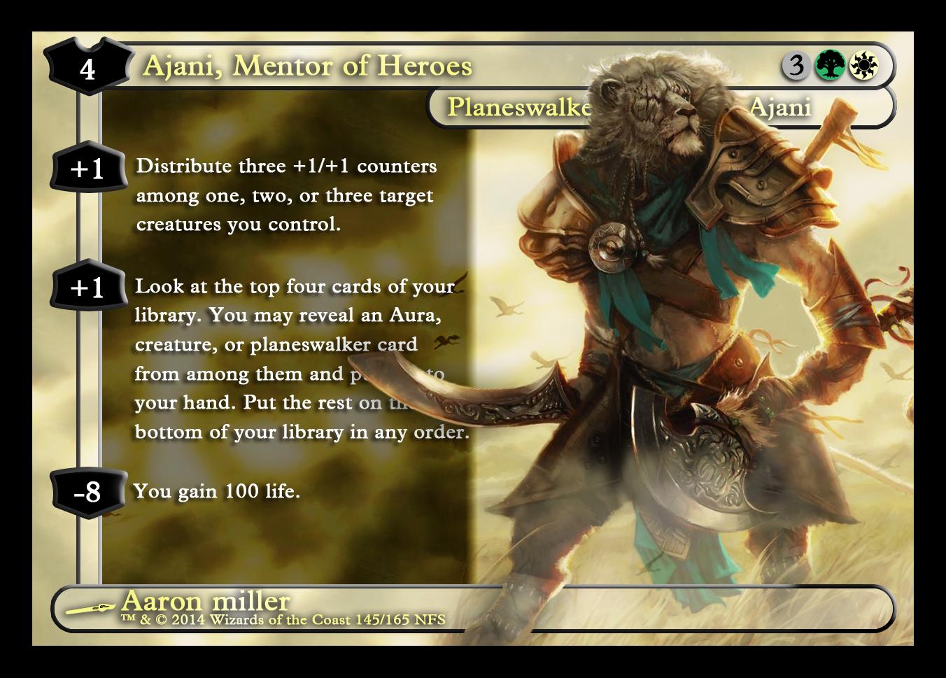 Ajani Mentor Of Heroes | www.pixshark.com - Images ...