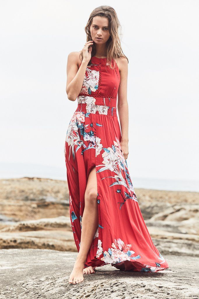 JAASE ENDLESS SUMMER MAXI LOVERS PASSION PRINT Kenzie