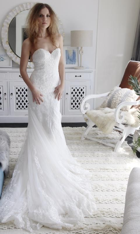 Italian Mermaid Wedding Dress