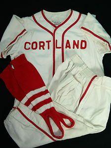 2ec0cc4a039 Vintage 1960 s Little League Baseball Uniform Cortland Ohio  sports   baseball