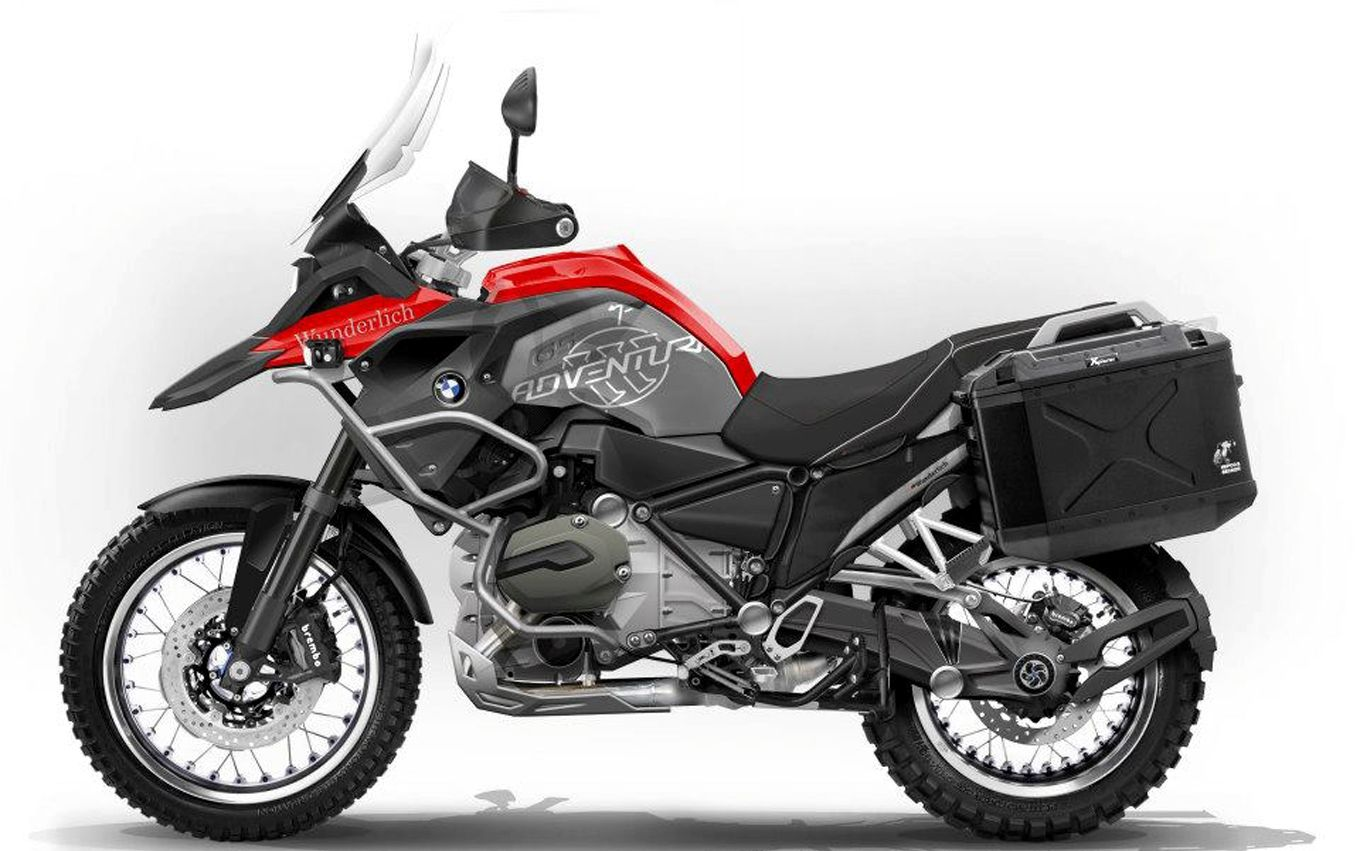 2014 BMW R 1200 GS Adventure side view Motosiklet Pinterest